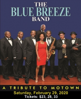 BLUE BREEZE BAND - A MOTOWN TRIBUTE 2/29