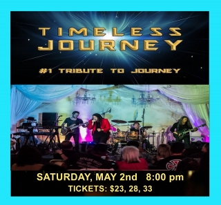 TIMELESS JOURNEY - TRIBUTE TO JOURNEY  5/2